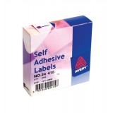 Avery Small Pack White Labels In Dispensers 2000 Labels Size 12mmx18mm Code 24-415