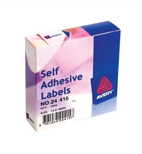 Avery Label Dispenser for 12x18mm White Ref 24-415 [2000 Labels]