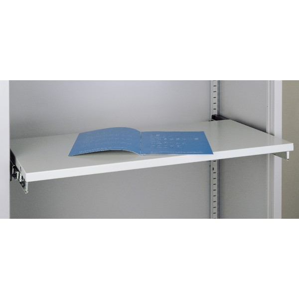 Bisley Roll-out Shelf for Cupboard Grey Ref BRS