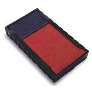 Trodat 6/4912/2 Replacement Ink Pad For Printy 4912 Red/Blue Code 83541