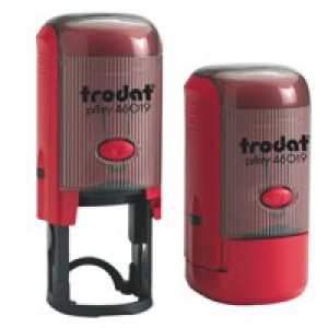 Trodat Printy 46019 Word Stamp Self Inking - Copy - Reinkable Red Ref 54290