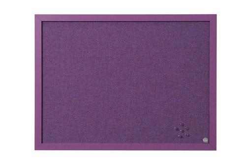 Bi-Silque Notice Board 600x450mm Lavender Code FB0469608