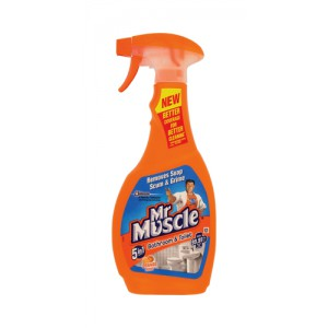 Mr Muscle Trigger Bathroom Spray 5in1 500ml Code 98347