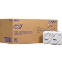 Scott Folded Hand Towels Sleeve of 320 Towels 212x238mm Ref 6775 [Pack 15 Sleeves]