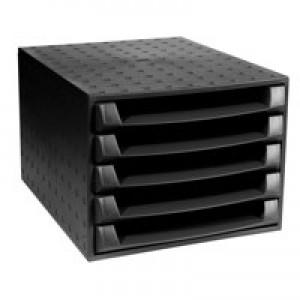 Exacompta Eco Drawer Set Black Code 221014D