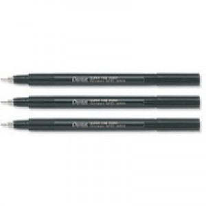 Pentel Marker Superfine 0.4mm Black NMF50-A