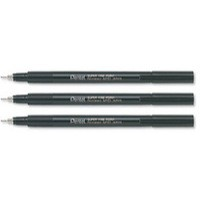 Pentel Marker Superfine 0.4mm Black NMF50-A
