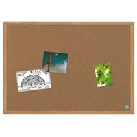 Bi-Office Earth-it Cork Board MDF Frame 900x600mm Code REC0701233
