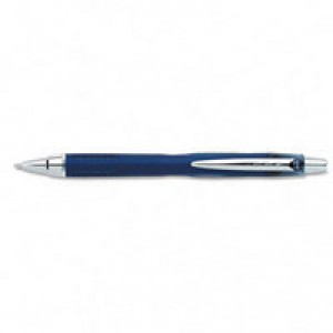 Uni-ball Jetstream RT Rollerball Pen Retractable 1.0mm Tip 0.45mm Line Blue Ref 9008021 [Pack 12]
