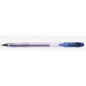 Uni-ball SigNo UM120 Gel Rollerball Pen 0.7mm Tip 0.5mm Line Blue Ref 9001181 [Pack 12]