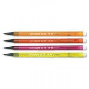 PaperMate Non-Stop Pencil Assorted Colours Pack 12 Code S0187204