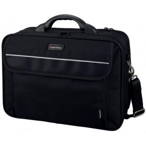 Lightpak Arco Laptop Bag Padded Nylon Capacity 17in Black Ref 46010