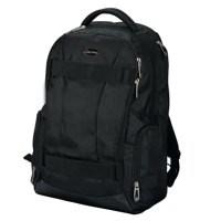 Fanatic Hawk Laptop Backpack Padded Nylon Capacity 17in Black Ref 24603
