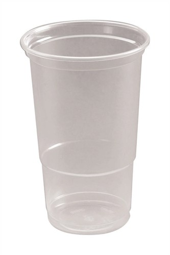 Tumbler CE Marked Polypropylene Tumbler Pint [Pack 50]