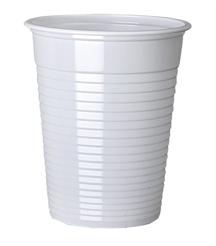 7oz PS non-vnd Cdrink cup Wht Pk100 5644