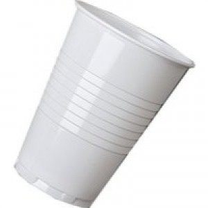 Tall Plastc vend hot drinkcup 7oz Pk100