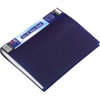 Rexel See&Store Book 40Pkt Blue 10560Bu
