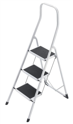 Safety Steps Folding Safety Rail H0.5m 3 Treads Capacity 150kg H2.49m 6.6kg