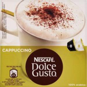 Nescafe Cappuccino for Nescafe Dolce Gusto Machine Code 12019905