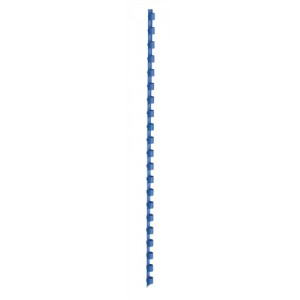 5 Star Binding Combs Plastic 21 Ring 55 Sheets A4 8mm Blue [Pack 100]