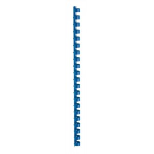 5 Star Binding Combs Plastic 21 Ring 110 Sheets A4 12mm Blue [Pack 100]
