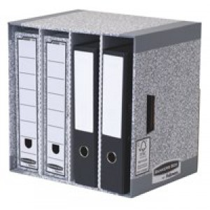 R-Kive System File Store W380xD280xH90mm Ref 01840 [Pack 5]