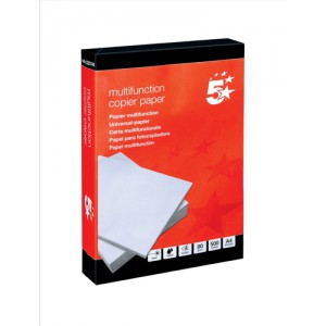 5 Star Office A4 Copier Paper Whte Pk500