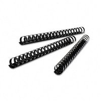GBC Binding Combs Plastic 21 Ring 390 Sheets A4 45mm Black Ref 4028186 [Pack 50]