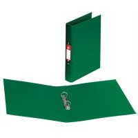 Image for 5 Star Ring Binder PVC 2 O-Ring Size 25mm A4 Green [Pack 10]