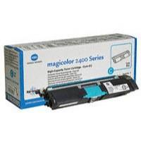 Konica Minolta Magicolor 2430DL/2400W/2500W Toner Cartridge High Capacity Cyan 1710589-007