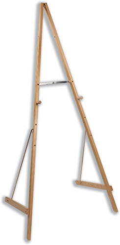Bi-Office Easel Wooden Adjustable to 4 Heights Max.H1800mm Ref SUP0703-001