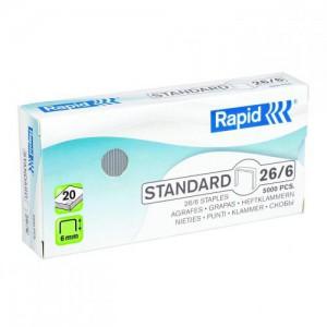 Rapid 26/6 Staples Box 5000 24861800