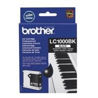 Brother Inkjet Cartridge Page Life 500pp Black Ref LC1000BK