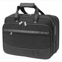Monolith Deluxe Nylon Multi-Purpose Laptop Case Black/Grey 2370