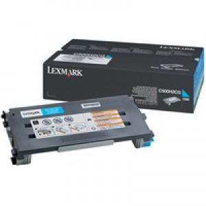 Lexmark C500 High Yield Toner Cartridge Cyan C500H2CG