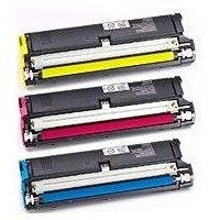 Konica Minolta Magicolor 2300 Series Toner Value Kit CMY 1710541-100