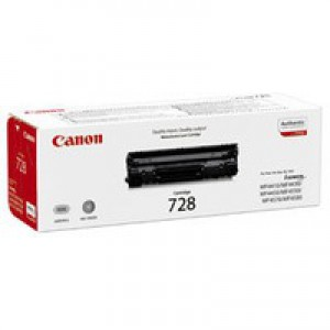Canon CRG-728 Laser Toner Cartridge Page Life 2100pp Black Ref 3500B002