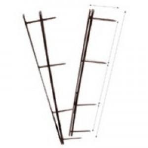 GBC Desktop Velobinder Binding Strips 25mm 4 Prongs Bind 200 Sheets A4 Black Code 9741635
