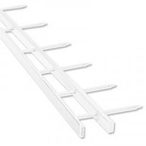 GBC Desktop Velobinder Binding Strips 25mm 4 Prongs Bind 200 Sheets A4 White Code 9741639