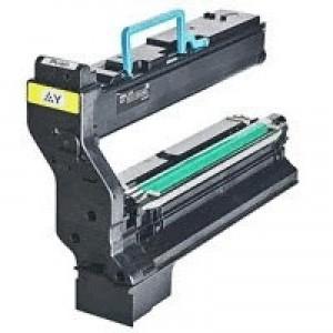Konica Minolta Laser Toner Cartridge Page Life 6000pp Yellow Ref 1710582-002
