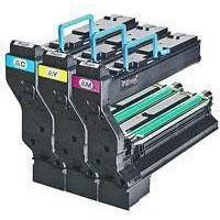 Konica Minolta Laser Toner Cartridge Page Life 18000pp Cyan/Magenta/Yellow Ref 1710594-001 [Pack 3]