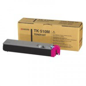 Kyocera TK-510M Laser Toner Cartridge Page Life 8000pp Magenta Ref 1T02F3BEU0