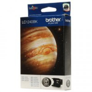 Brother Inkjet Cartridge Page Life 600pp Black Code LC1240BK