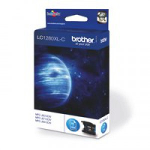 Brother Inkjet Cartridge High Yield Page Life 1200pp Cyan Code LC1280XLC
