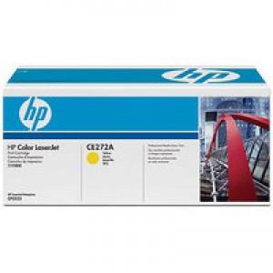 HP No.650A Laser Toner Cartridge Yellow Code CE272A