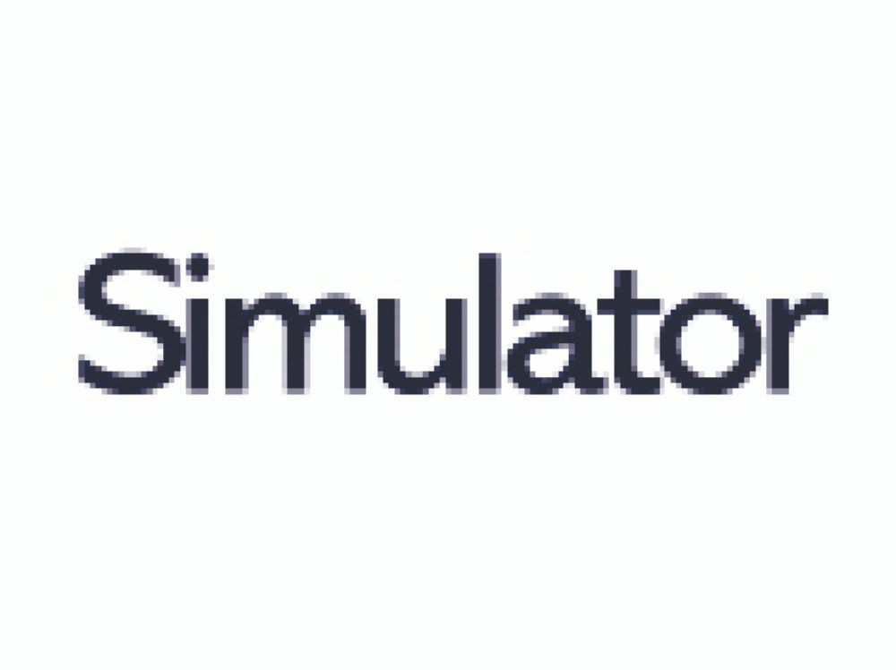 Simulator Transparent SRA2 450x640mm 90gm Pack 500