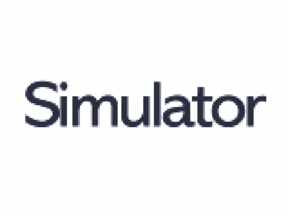 Simulator Transparent SRA2 450x640mm 140gm Pack 250