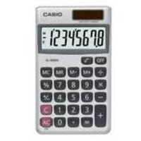 Image for Casio Pocket Calculator 8-digit SL-300V-S-GH