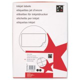 5 Star I/Jet Labels 63.5x38.1mm 40 Shts