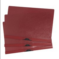 Image for 5 Star Clip Folder 3mm Spine for 30 Sheets A4 Red [Pack 25]